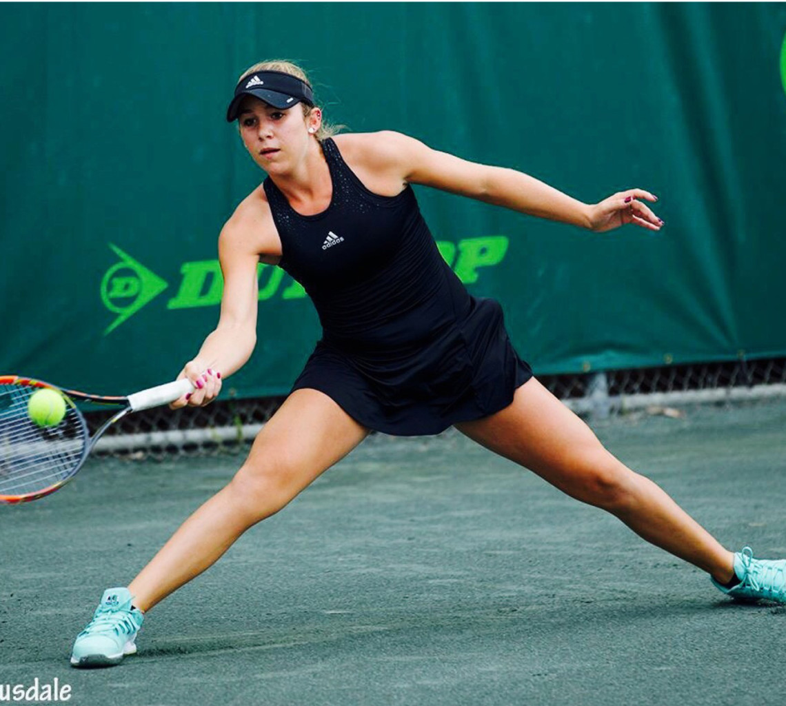 Victoria Emma – Elite Junior Tennis Player
